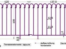 Terrassenelement Vienna-95